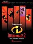 incredibles 2 songbook
