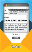 how to get it done?: be p...