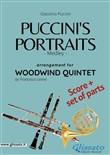 Puccini's Portraits - Woodwind Quintet score & parts
