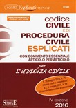 Codice civile e di procedura civile esplicati. Ediz. minor