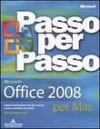 Microsoft Office 2008 per Mac. Con CD-ROM