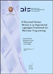 A truncated newton method in an argumented lagrangian framework for nonlinear programming