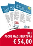 Concorso magistratura 2019. Kit Focus magistratura: Civile, penale, amministrativo (2019). Vol. 1-2-3