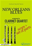 New Orleans Blues - Clarinet Quartet score & parts