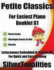 Petite Classics for Easiest Piano Booklet G1