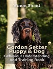 gordon setter puppy & dog...