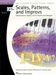 Scales, Patterns and Improvs - Book 2 (Music Instruction)