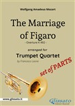 The Marriage of Figaro - Trumpet Quartet (Set of Parts)