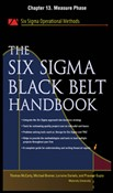 The Six Sigma Black Belt Handbook, Chapter 13 - Measure Phase