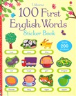 100 first english words. Libro stickers