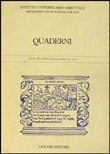 Quaderni. Vol. 3-4