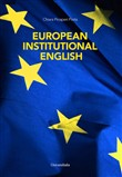 European institutional english. Ediz italiana e inglese