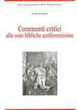 Commenti critici alle note bibliche antifemministe