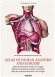 Atlas of human anatomy and surgery. Ediz. multilingue ese
