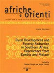Afriche e Orienti (2015). Vol. 1: Rural development and poverty reduction in Southern Africa