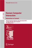 Human-Computer Interaction. Interaction in Context