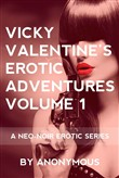 Vicky Valentine's Erotic Adventures Volume 1: A Neo-Noir Erotic Series