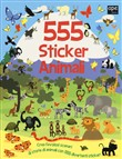 555 sticker animali