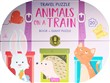 Animals on a train. Travel puzzle. Ediz. a colori. Con puzzle
