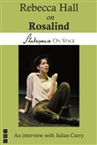 rebecca hall on rosalind ...