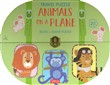 Animals on a plane. Travel puzzle. Ediz. a colori. Con puzzle