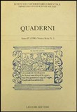 Quaderni Vol. 5
