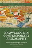 Knowledge in Contemporary Philosophy
