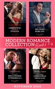 Modern Romance November 2020 Books 1-4: Christmas Babies for the Italian (Innocent Christmas Brides) / The Rules of His Baby Bargain / Claiming His Bollywood Cinderella / His Scandalous Christmas Princess