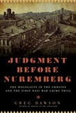 Judgment Before Nuremberg