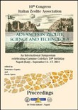 Advances in zeolite science and technology. An international symposium celebrating Carmine Colella's 70th birthday