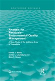 Analysis for Residuals-Environmental Quality Management