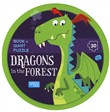 Dragons in the forest. Puzzle gigante. Con Libro