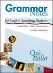 Qui Italia. Grammar notes for English Speaking Students