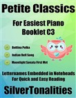 Petite Classics for Easiest Piano Booklet C3