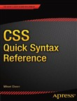 CSS Quick Syntax Reference