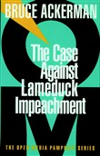 the case against lame duc...