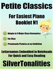 Petite Classics for Easiest Piano Booklet N1