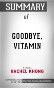 Summary of Goodbye, Vitamin
