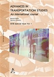Advances in transportation studies. Special issue (2018). Vol. 1