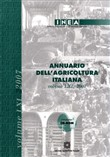 Annuario dell'agricoltura italiana. Con CD-ROM