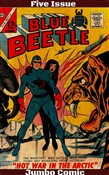 blue beetle five issue ju...