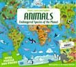 Animals of the world. Endangered species. Ediz. a colori. Con puzzle
