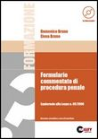 Formulario commentato di procedura penale