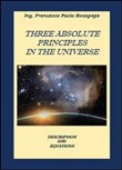 Three absolute principles in the univers