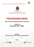 Proceeding book. Proceedings of the eight International multidisciplinary conference: ICTEA-8 (Malta, december 2018)