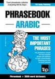 English-Arabic phrasebook and 3000-word topical vocabulary