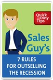sales guy's 7 rules for o...