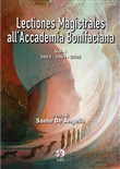 Lectiones magistrales all'Accademia Bonifaciana. Vol. 1: 2003-2004-2005