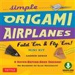 Simple Origami Airplanes Mini Kit Ebook