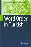 Word Order in Turkish